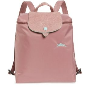 Ladies Le Pliage Club Backpack Antique Pink BNWT